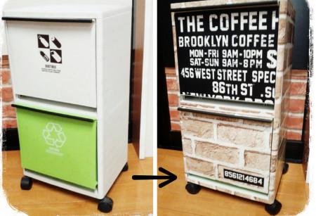 ゴミ箱をおしゃれに収納する方法 生活感を隠してすっきり!