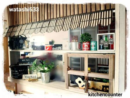 キッチンカウンターをDIY!おしゃれなカフェ風アイデア10選