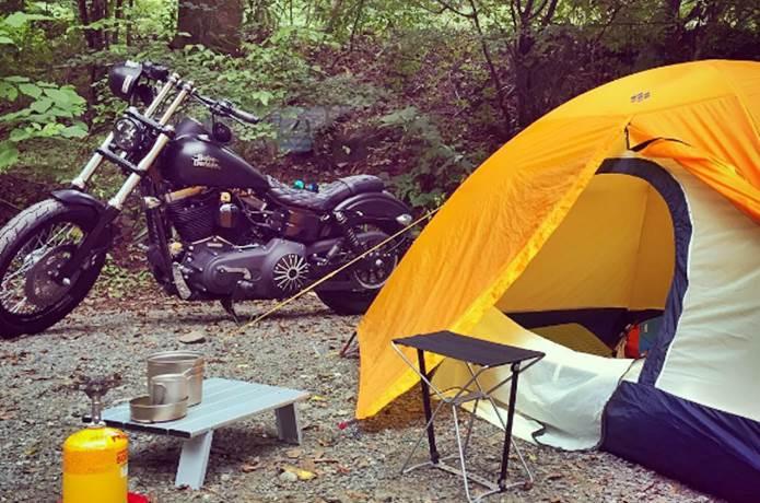 男前に決めるなら!キャンプツーリングの心得とおすすめ道具
