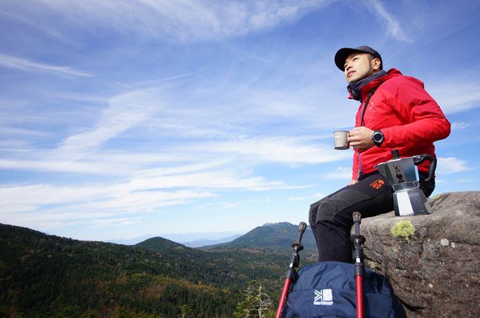憧れのソロ登山!山頂での至福のコーヒーの淹れ方