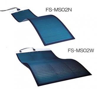 軽量・高効率CIGS薄膜型フレキシブルソーラーパネル発売