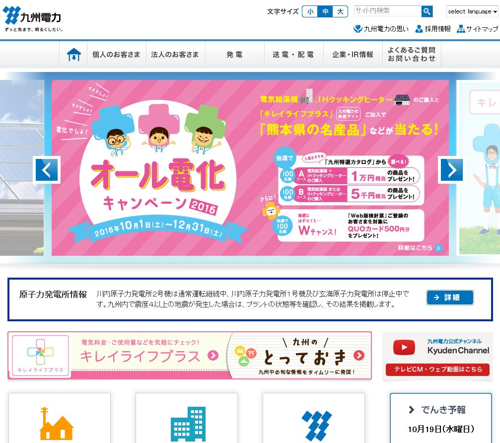 九州電力、ひとり住まいを見守る「みまもりサポート」10月18日より開始