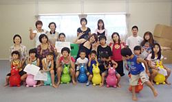 東北の子どもたちへ笑顔をつなげ!RODY YOGA