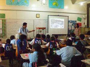 環境授業(パラオ)