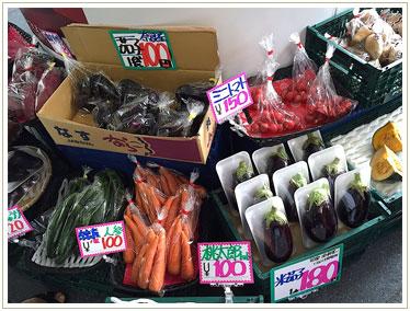 野菜の安さにびっくり。水茄子は関西ならではですね