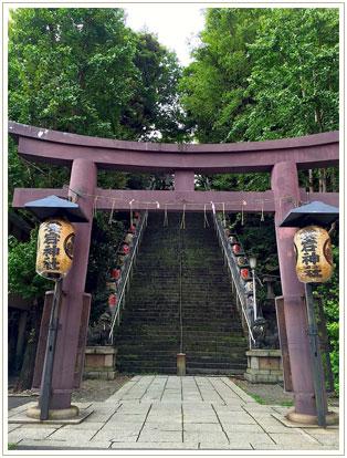 ここからの景色が正しい階段の図。