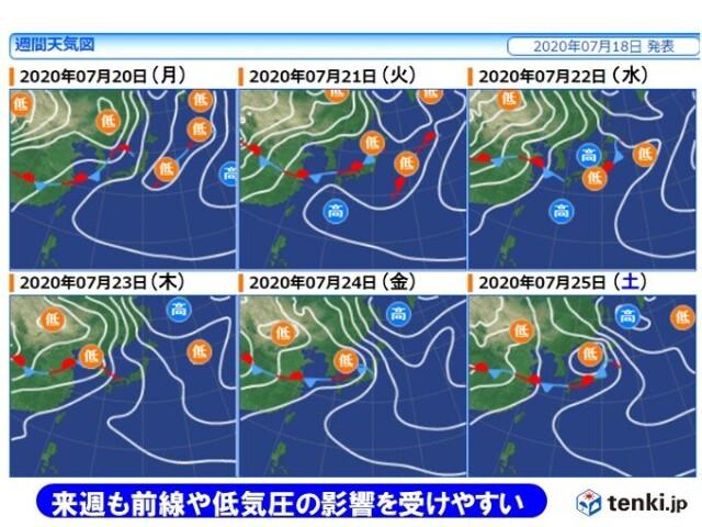 梅雨明け 2020 関東 予想