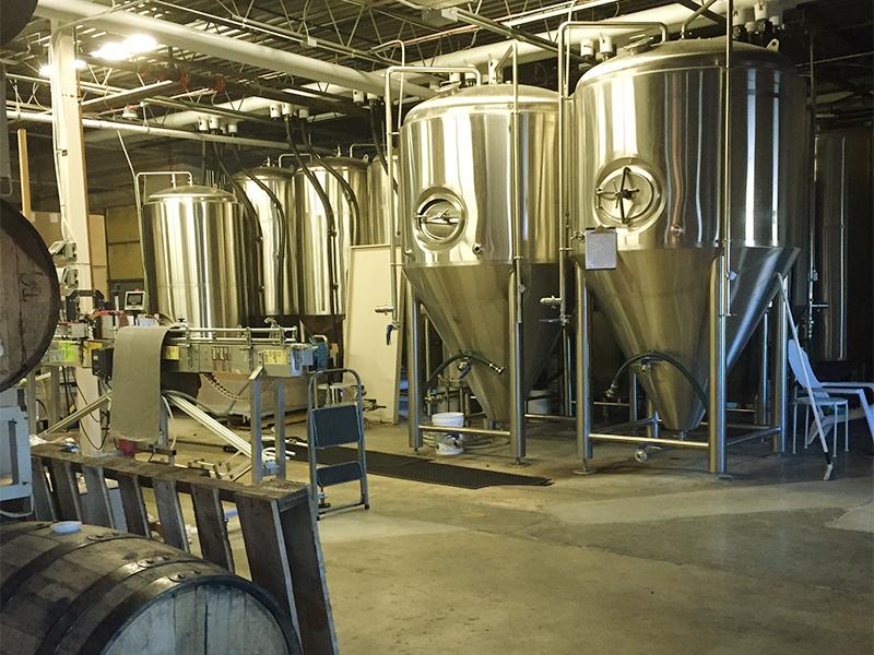 ゴールデンという町に工場があるクワーズ・ビール