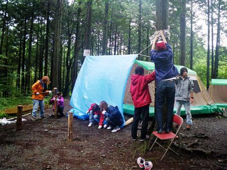 キャンプのなかみ(1)「ちゃんとした準備」