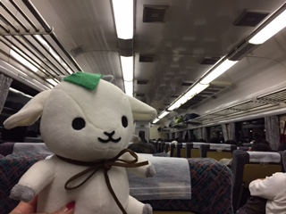 メグたんと電車の旅