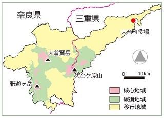 地図 大台ケ原
