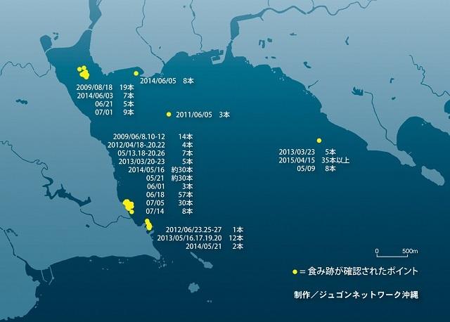 640 大浦湾食跡位置RGB