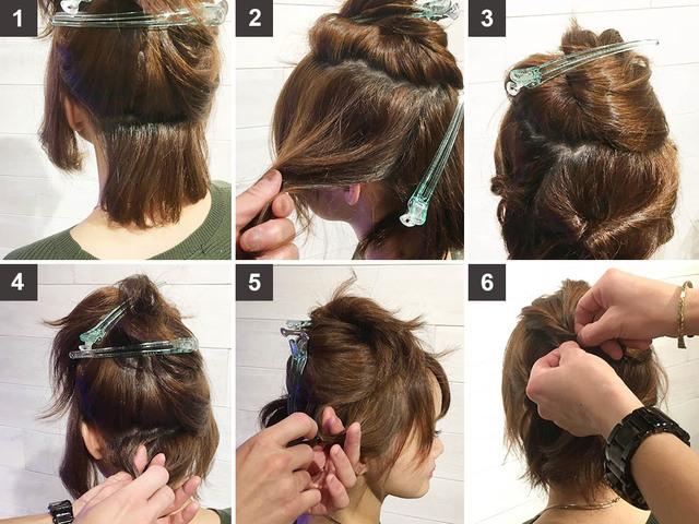 髪型 簡単 祭 体育