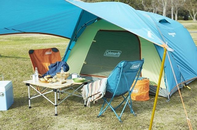人気ブランドコールマンの素敵なギアで満足のいくキャンプを!
