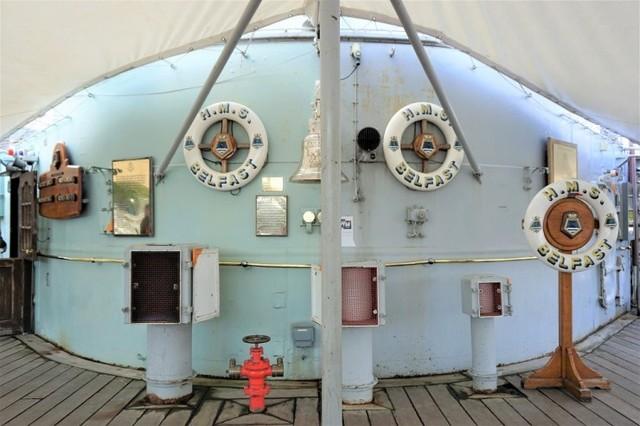 イギリス・ロンドンのテムズ川に浮かぶ本物の軍艦「HMSベルファスト号」に潜入してみた