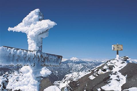 """雪と氷のさまざまな""""姿"""""""