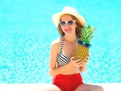 夏野菜・夏フルーツ 旬の物で夏の美肌対策を!