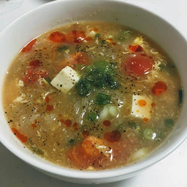 冷え対策におすすめ!身体ぽかぽか!サンラータン風スープのレシピ!