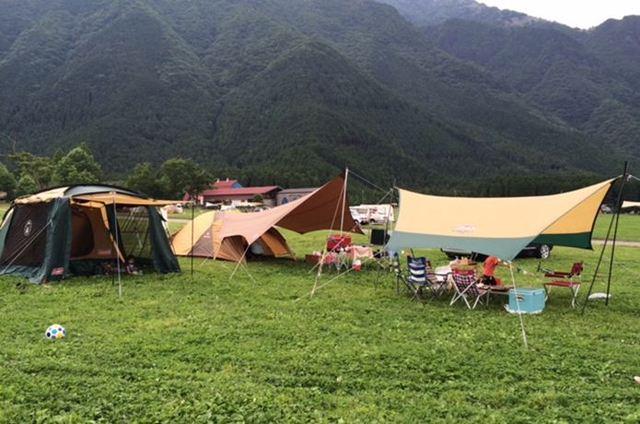 流れをイメージ!「ファミリーキャンプ・一泊二日」のモデル例
