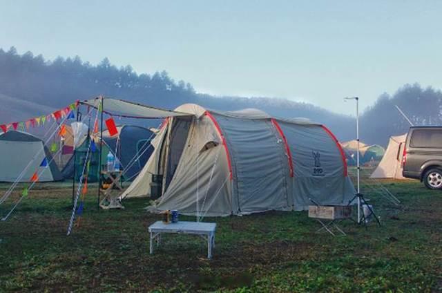 ミニマムなツールームテントが秋冬キャンプにちょうどいい理由とは?