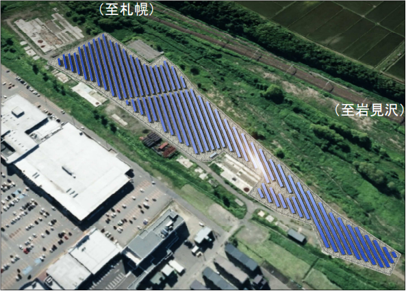 空知運転所跡地で太陽光発電事業計画を発表