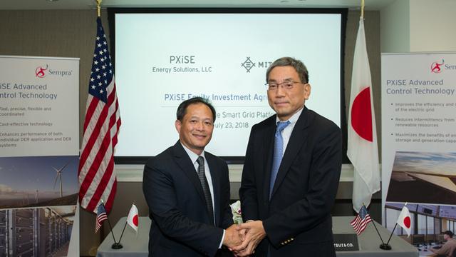 三井物産、電力系統制御の米企業に出資参画