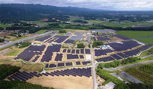 NTTファシリティーズ、福島県南相馬市でメガソーラー竣工