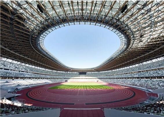 カネカ製品が国立競技場に採用「シースルー太陽電池」