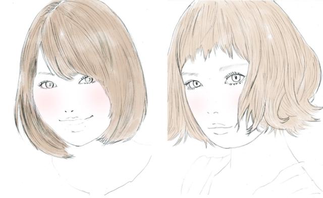 前髪だけでイメージチェンジ!骨格別で小顔美人になる方法