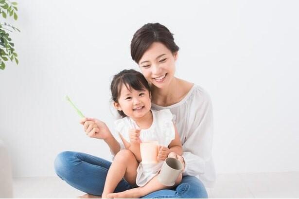 """我が子の大切な健康を守るには""""楽しい歯みがき""""を"""
