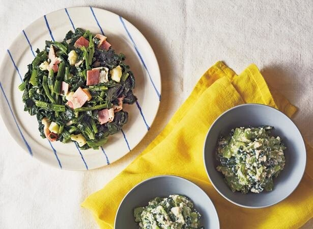 冷凍野菜は熱を通しすぎないのがコツ!冷凍青菜レシピ