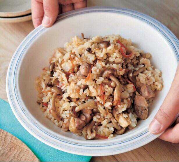 へとへとさんにおすすめのボリューム満点「混ぜご飯」