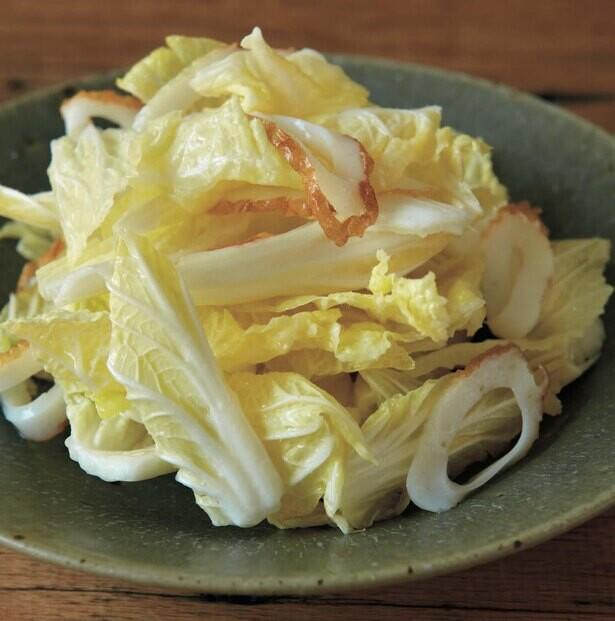 栄養をむだにしない!内葉のサラダ&外葉のスープ煮