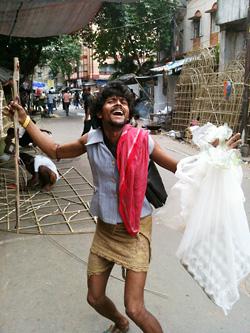 通りすがりの陽気なインド人