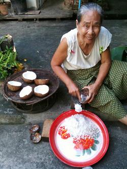宿の優しいおばあちゃん