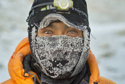マイナス38度、南極での村上さん