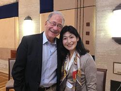 米国精神医学会診断基準DSM-5の総責任者Dr. David Kupferと共に国際学会で