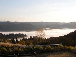 雲海の大日高原