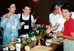 ボストンで日本の生活文化について講演の廣瀬さん