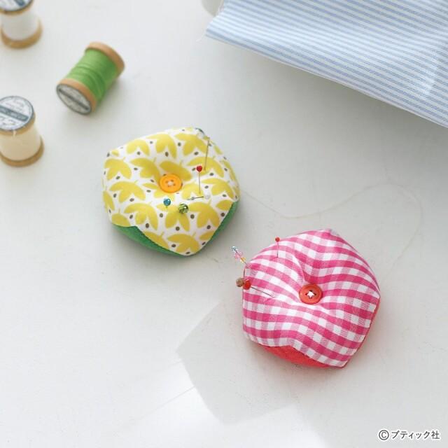 手芸のお道具「ピンクッション」の作り方