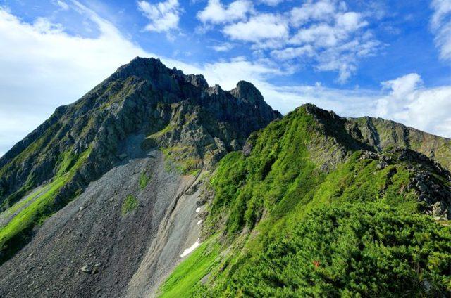 北穂高岳|憧れの涸沢カールを抜けて豪快な3000m峰へ