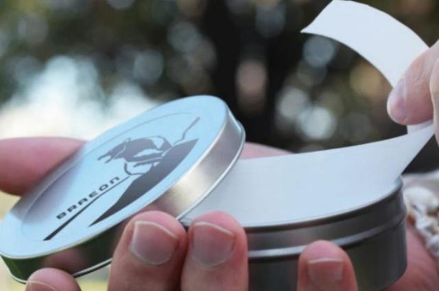 """タフ過ぎる極薄テープ! 冷やすと金属並みの強度になる 新素材タフテックス""""BRAEO"""""""
