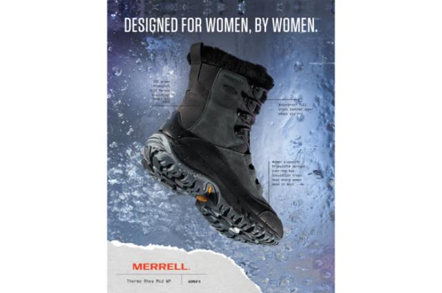<MERRELL>女性のためのウィンターブーツが登場