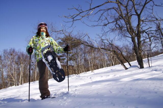 年こそモンベルの「スノーシュー」で雪山ハイクデビュー