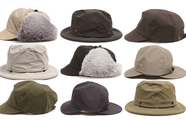 オシャレで可愛いのに機能的?!「halo.」の帽子